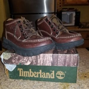 Boys Brown Timberland Shoes